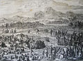 The Phillip Medhurst Picture Torah 167. Meeting of Jacob and Esau. Genesis cap 33 v 3. Jan and Caspar Luyken.jpg