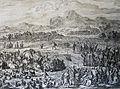 The Phillip Medhurst Picture Torah 167. Meeting of Jacob and Esau. Genesis cap 33 v 3. Jan and Caspar Luyken.jpg