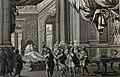 The Phillip Medhurst Picture Torah 274. Death of Jacob. Genesis cap 49. Perelle.jpg