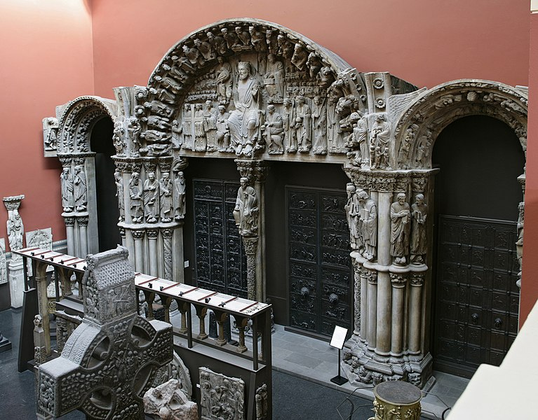 File:The Portico de la Gloira, Santiago de Compostela.jpg