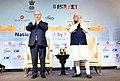 The Prime Minister, Shri Narendra Modi and the Prime Minister of Israel, Mr. Benjamin Netanyahu at the India-Israel Business Summit, in New Delhi on January 15, 2018 (2).jpg