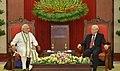 The Prime Minister, Shri Narendra Modi meeting the General Secretary of the Communist Party of Vietnam, Mr. Nguyen Phu Trong, at Communist Party Headquarters, in Hanoi, Vietnam on September 03, 2016 (2).jpg