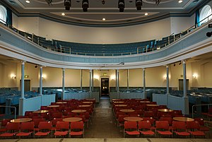 Queen's Hall, Edinburgh - The view from the stage inside The Queen's Hall, Edinburgh