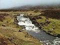 The River Rha in spate - geograph.org.uk - 134331.jpg