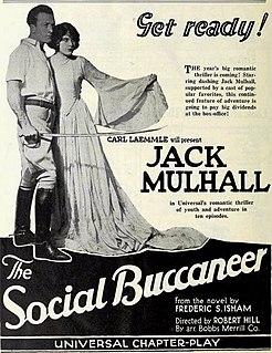<i>The Social Buccaneer</i> 1923 film by Robert F. Hill