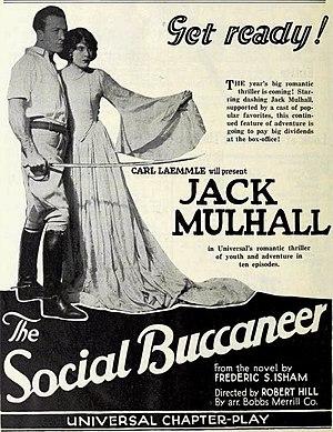 The Social Buccaneer - November, 1922 Universal Weekly advertisement for The Social Buccaneer