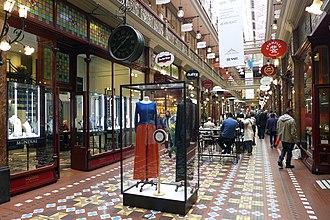 The Strand Arcade - Image: The Strand Arcade Level 1 201708