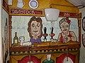 The Tavistock Inn, mural - geograph.org.uk - 1987049.jpg