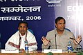 The Union Minister for Shipping, Road Transport and Highways, Shri T. R. Baalu addressing the Economic Editors' Conference - 2006, organised by the Press Information Bureau, in New Delhi on November 08, 2006.jpg