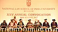 The Vice President, Shri M. Hamid Ansari at the 25th Annual Convocation of National Law School of India University (NLSIU), in Bengaluru.jpg