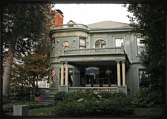 Piedmont Avenue (Atlanta) - The William P. Nicolson House Shellmont Inn at 821 Piedmont Ave., Historic Midtown