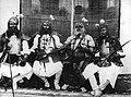 The attendants of the Sumptha Raja, Agra Durbar.jpg