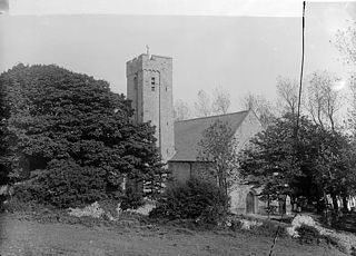 The church, Narberth