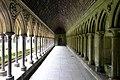 The cloister - Mont St Michel (32922577015).jpg