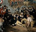 The death of Lord Nelson on the quarter deck aboard HMS Vict Wellcome V0006852.jpg