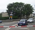 The tables turned - the Valley Level Crossing - geograph.org.uk - 1458304.jpg