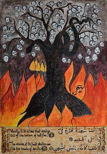 Hasil gambar untuk tentang pohon neraka