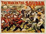 La guerra del Sudan, in una rappresentazione di propaganda.