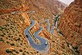 The zigzagging road of the Dades Gorge in southern Morocco.jpg