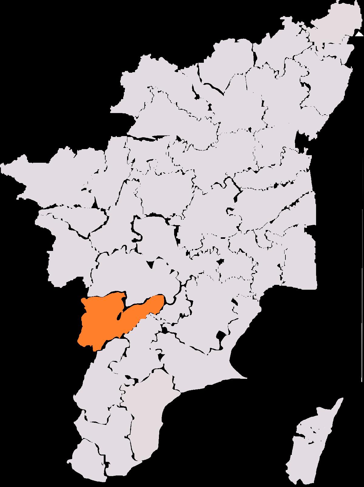 Theni (Lok Sabha constituency) - Wikipedia