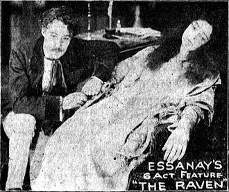 The Raven (1915 film) - Scene from the film