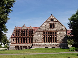 Thomas Crane Public Library - Image: Thomas Crane Public Library, Quincy, Massachusetts (side view)