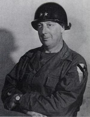Thomas Leonard Harrold - Harrold as commander of the 1st Cavalry Division