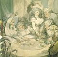 Thomas Rowlandson, A Gambling Table at Devonshire House (1791, detail).jpg