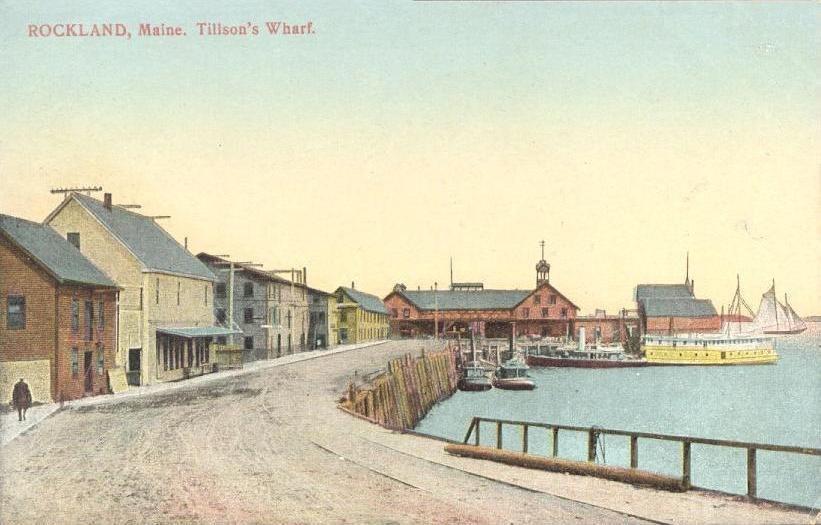 Tillson%27s Wharf, Rockland, ME