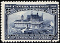 Timbre-poste Canada 5c Quebec 1908.jpg