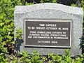 Time capsule 1994 - Framingham, MA -DSC00234.JPG