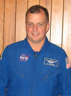 Timothy Creamer NASA flight director, retired astronaut and a colonel in the United States Army
