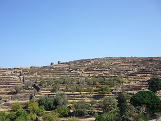 Tinos - Landscape of the island
