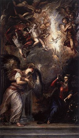 Titian - The Annunciation - WGA22827