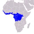 Tockus fasciatus - Distribution.png