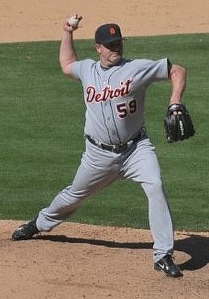 Todd Jones - Jones with the Detroit Tigers