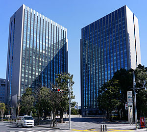MS&AD Insurance Group - Image: Tokyo Sumitomo Twin Building 01s 5