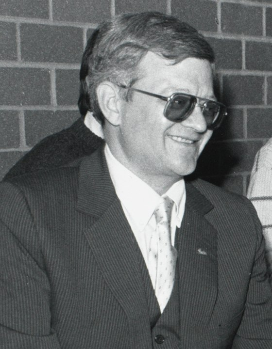 Tom Clancy at Burns Library cropped