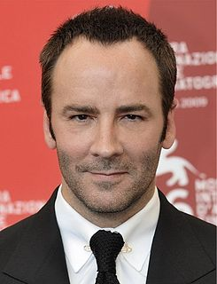 Tom Ford American fashion designer and filmmaker