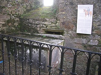 Kilcrea Friary - Tomb of Art Ó Laoghaire