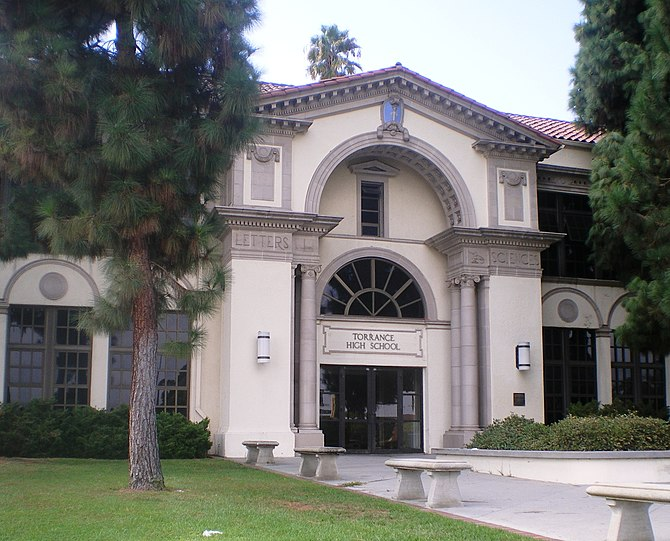 English: Torrance High School, Torrance, CA