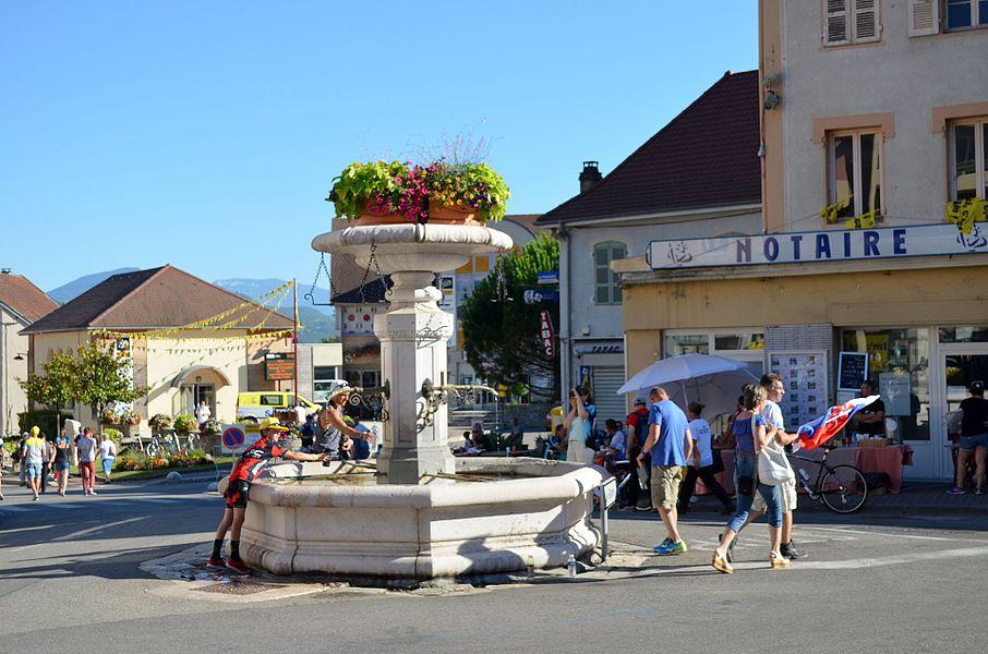 Fontaine à Culoz.