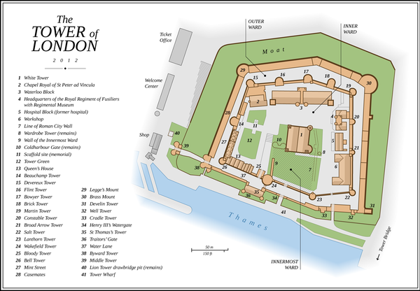 Plan of the Tower of London Tower of London EN.png