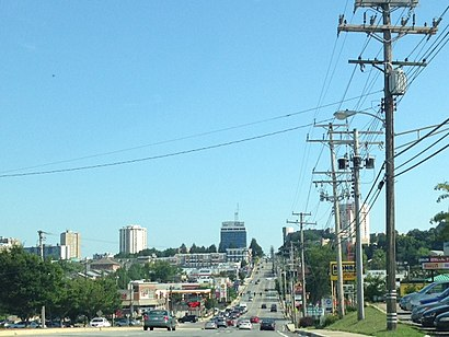 How to get to Towson, MD with public transit - About the place