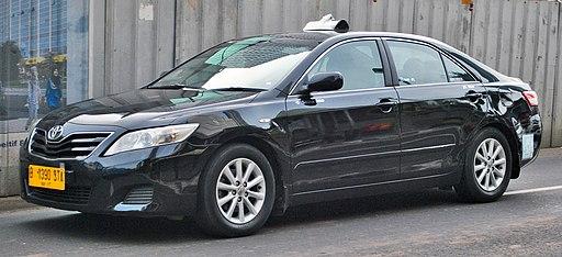 Toyota Camry (XV40) taxi (rear), Jakarta