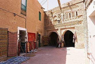 Tozeur - Medina entrance
