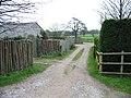 Track through Pear Tree Farm - geograph.org.uk - 342795.jpg