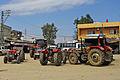 Tractors in Çiçekli, Sarıçam.JPG