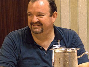 Tracy Hickman at Dragon Con 2006.