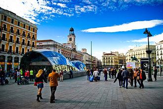 Sol (Madrid) - Puerta del Sol
